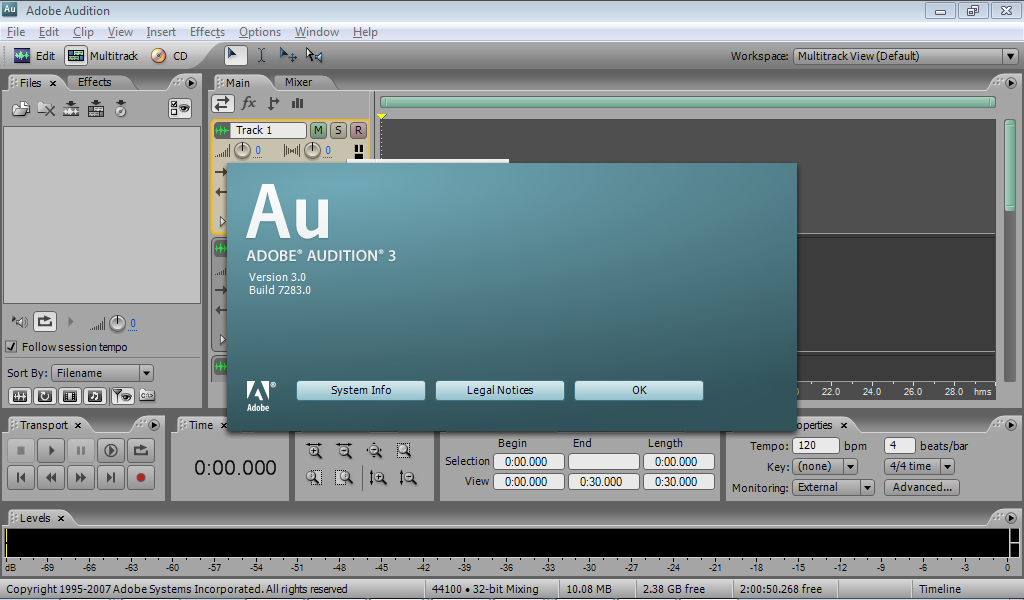 adobe audition 3.0 download free full version