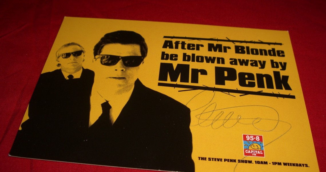 95.8 Capital FM - Steve Penk promo card (1997) by Radio Things