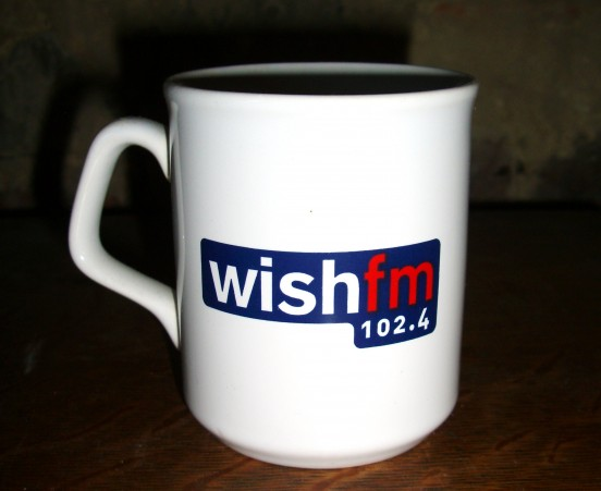 102.4 Wish FM mug (2006) by RADIO THINGS